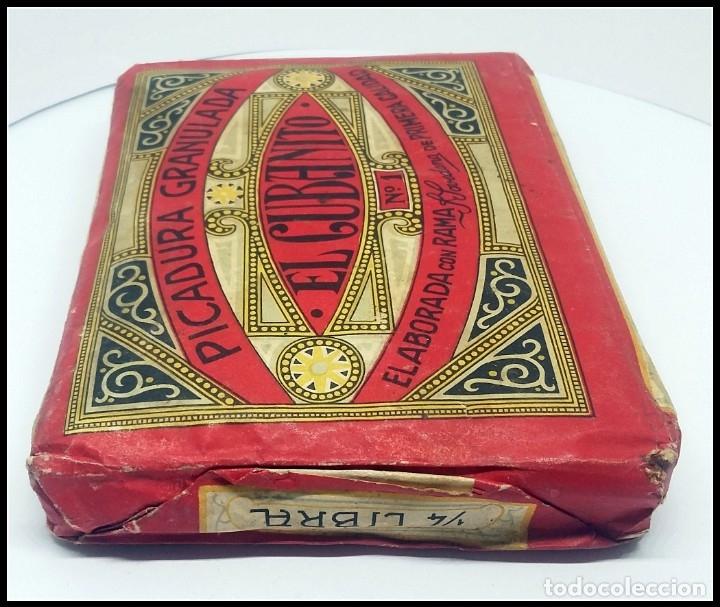 Paquetes de tabaco: TABACO PICADURA GRANULADA EL CUBANITO POVEDANO GIBRALTAR - Foto 4 - 175865649
