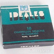 Paquetes de tabaco: ANTIGUO PAQUETE TABACO IDEALES. Lote 175952392