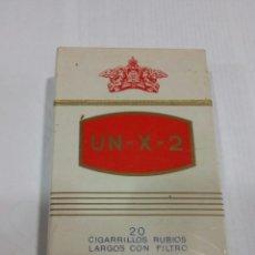 Paquetes de tabaco: PAQUETE DE TABACO /UN-X-2. Lote 176149794