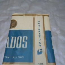 Paquetes de tabaco: PAQUETE TABACO DUCADOS ERROR IMPRENTA -ENVASADO. Lote 176501634
