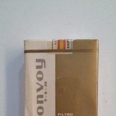 Paquetes de tabaco: PAQUETE DE TABACO CIGARRILLOS CONVOY FILTRO TIPO LARGO B. BLANCA. SIN ABRIR. CAR164. Lote 191447750