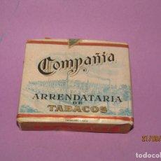 Paquetes de tabaco: ANTIGUO PAQUETE DE TABACO CIGARRILLOS ESPECIALES AL CUADRADO DE LA COMPAÑIA ARRENDATARIA DE TABACOS. Lote 222646976