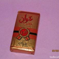 Paquetes de tabaco: ANTIGUO PAQUETE DE TABACO ETIQUETA ORO PICADURA DE LUJO DE MONOPOLIO DE TABACOS DE MARRUECOS. Lote 177416119