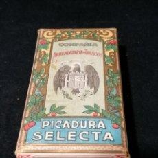 Paquetes de tabaco: PAQUETE DE PICADURA SELECTA COMPAÑIA ARRENDATARIA DE TABACOS 125GR.. Lote 177961379
