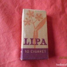 Paquetes de tabaco: PAQUETE TABACO. LIPA 10 CIGARET. PAQUETE (SIN ABRIR). Lote 179264542
