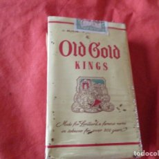 Paquetes de tabaco: PAQUETE TABACO. OLD GOLD. KINGS. 20 CIGARRILLOS. PAQUETE (SIN ABRIR). Lote 179306736