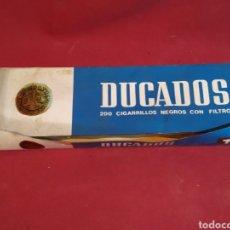 Paquetes de tabaco: CARTÓN DE DUCADOS (SIN PAQUETES DENTRO). Lote 179387286