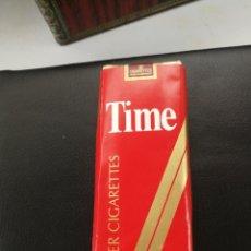 Paquetes de tabaco: ANTIGUO TABACO TIME ESTÁ PRECINTADO. Lote 180074935