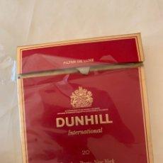 Paquetes de tabaco: PAQUETE DUNHILL CIGARRILLOS. Lote 180113566