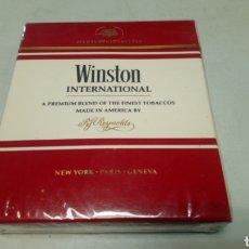 Paquetes de tabaco: PAQUETE DE TACACO - CIGARRILLOS. WINSTON INTERNACIONAL. PRECINTADO. AÑOS 70-80. Lote 180195098