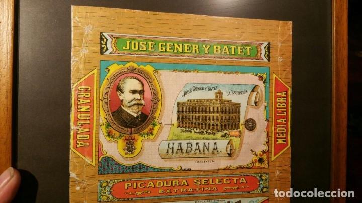 Paquetes de tabaco: Picadura Tabaco La Escepción - Jose Gener y Batet - Habana, ENMARCADO - Foto 3 - 180967510