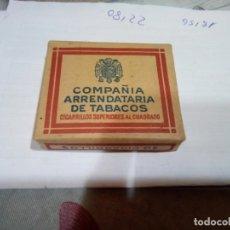 Paquetes de tabaco: PAQUETE DE TABACO . Lote 181201778