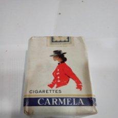 Paquetes de tabaco: PAQUETE DE TABACO CARMELA. Lote 181380838