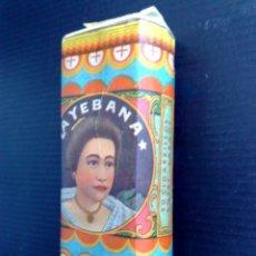 Paquetes de tabaco: PAQUETE ANTIGUO DE 30 CIGARILLOS CHORRITOS LARGOS,LA YEBANA,REPUBLICA PILIPINAS,PRECINTO.. Lote 181879348