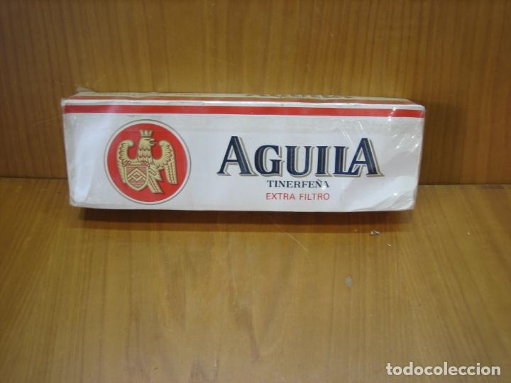ANTIGUO CARTÓN DE TABACO AGUILA. SIN ABRIR (Coleccionismo - Objetos para Fumar - Paquetes de tabaco)