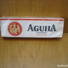 Paquetes de tabaco: ANTIGUO CARTÓN DE TABACO AGUILA. SIN ABRIR. Lote 182108800