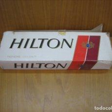 Paquetes de tabaco: ANTIGUO CARTÓN DE TABACO HILTON. SIN ABRIR. Lote 182167313