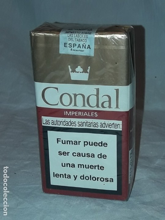 PAQUETE TABACO CONDAL IMPERIAL SUPER FILTRO SIN ABRIR (Coleccionismo - Objetos para Fumar - Paquetes de tabaco)
