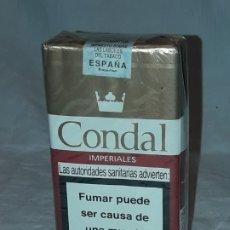 Paquetes de tabaco: PAQUETE TABACO CONDAL IMPERIAL SUPER FILTRO SIN ABRIR. Lote 183344948