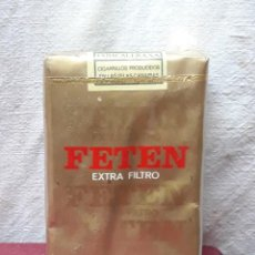 Paquetes de tabaco: PAQUETE / CAJETILLA TABACO FETEN.... Lote 183736935