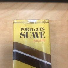 Paquetes de tabaco: ANTIGUO PAQUETE DE TABACO PORTUGUES SUAVE LONG SIZE. SIN ABRIR. Lote 183922066