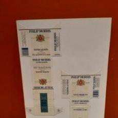 Paquetes de tabaco: CAJETILLAS DE TABACO PHILIP MORRIS. Lote 183983533