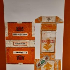 Paquetes de tabaco: CAJETILLAS DE TABACO ANTIGUA. Lote 183983705