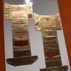 Paquetes de tabaco: CAJETILLAS DE TABACO ANTIGUOS BENSO & HEDGES. Lote 183984527