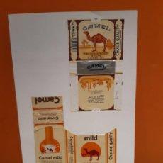 Paquetes de tabaco: CAJETILLAS DE TABACO ANTIGUOS CAMEL Y CAMEL MILD. Lote 183985191