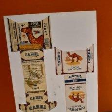 Paquetes de tabaco: PAQUETES DE TABACO ANTIGUOS CAMEL VER FOTOS. Lote 183987463