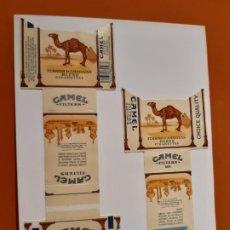 Paquetes de tabaco: CAJETILLAS DE TABACO CAMEL. Lote 183988156