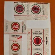 Paquetes de tabaco: CAJETILLAS DE TABACO ANTIGUOS LUCKY STRIKE. Lote 183989338