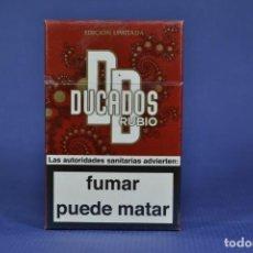 Maços de tabaco: ANTIGUO PAQUETE DE TABACO LLENO MARCA DUCADOS RUBIO. Lote 184370961