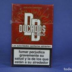 Maços de tabaco: ANTIGUO PAQUETE DE TABACO LLENO MARCA DUCADOS RUBIO. Lote 184371090