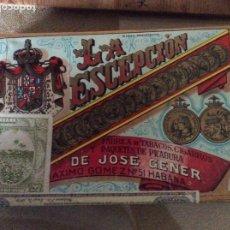 Paquetes de tabaco: PICADURA SELECTA EXTRA FINA JOSE GENER Y BATET LA EXCEPCIÓN. Lote 184454186