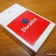 Paquetes de tabaco: ANTIGUA CAJETILLA DUCADOS RUBIO AÑOS 80 SIN ABRIR. Lote 185931121