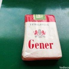 Paquetes de tabaco: PAQUETE DE TABACO SIN ABRIR Y CON SELLO REPÚBLICA DE CUBA. GENER. Lote 186138696