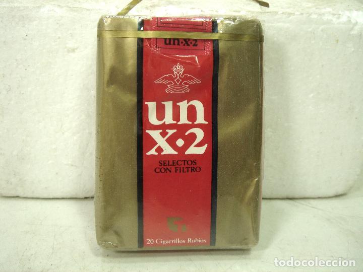 ANTIGUO PAQUETE DE TABACO- UN X-2 -SELECTOS FILTROS ¡¡PRECINTADO¡¡ CIGARROS X2 (Coleccionismo - Objetos para Fumar - Paquetes de tabaco)