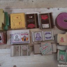 Paquetes de tabaco: GRAN LOTE DE CAJETILLAS DE CIGARROS SIN USAR DE LA MARCA LA REGENTA. Lote 186369646
