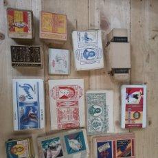Paquetes de tabaco: GRAN LOTE DE CAJETILLAS SIN USAR DE CIGARRILLOS DE LA MARCA LA REGENTA. Lote 186369710