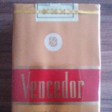 Paquets de cigarettes: VENCEDOR PAQUETE DE TABACO PRECINTADO SIN ABRIR.. Lote 204795685