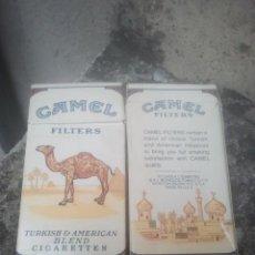 Paquetes de tabaco: ANTIGUOS PAQUETES DE TABACO - CAMEL FILTER BOX - 10 CIGARRILLOS - ESTADOS UNIDOS. Lote 187319895