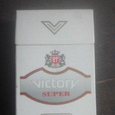 Paquetes de tabaco: ANTIGUO PAQUETE DE TABACO - VICTORY SUPER - RUSIA - RARO. Lote 187389642