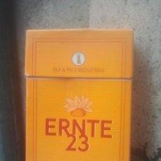 Paquetes de tabaco: ANTIGUO PAQUETE Ó CAJETILLA DE TABACO - ERNTE 23 - VENTA EN ESPAÑA. Lote 187430730