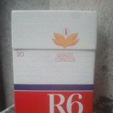 Paquetes de tabaco: ANTIGUO PAQUETE Ó CAJETILLA DE TABACO - R6 INTERNATIONAL - ALEMÁN - VENTA EN ITALIA. Lote 187431445