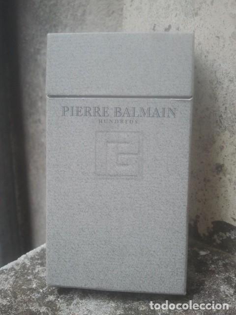 ANTIGUO PAQUETE Ó CAJETILLA DE TABACO - PIERRE BALMAIN - HUNDREDS - RAREZA - DE COLECCIÓN (Coleccionismo - Objetos para Fumar - Paquetes de tabaco)