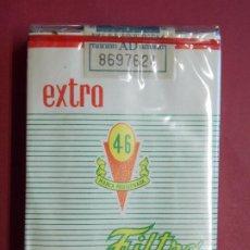 Maços de tabaco: PAQUETE , CAJETILLA , TABACO , CIGARRILLOS - 46 EXTRA - AÑOS 70 - SIN ABRIR .. L589. Lote 208210243