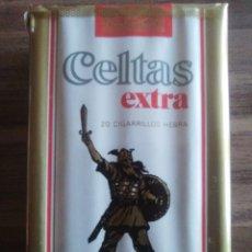 Paquets de cigarettes: CELTAS EXTRA PAQUETE DE TABACO PRECINTADO SIN ABRIR.. Lote 221796541