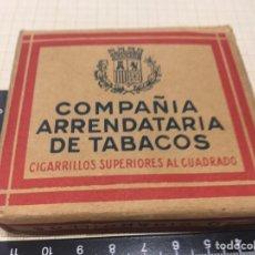 Paquetes de tabaco: CAJETILLA TABACO II REPUBLICA. Lote 189468412