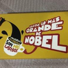 Paquetes de tabaco: CAJA CARTÓN TABACO NOBEL, CIERRE IMAN. Lote 189510841